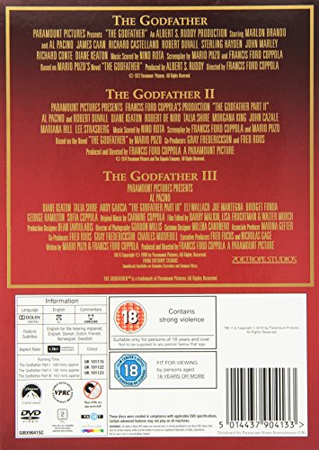 The Godfather DVD Collection [DVD] [1972]