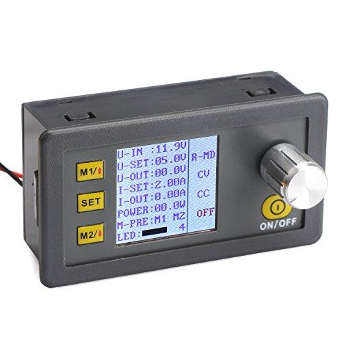 DROK CNC DC Buck Converter Constant Current/Voltage 0-20V/2A Regolamentato Alimentazione + LCD Tester di Tensione di Corrent