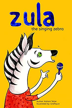 Zula, The Singing Zebra!