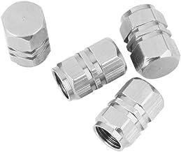 Tap/ón de v/álvula de aleaci/ón de Aluminio Universal Antipolvo para Coche qhtongliuhewu