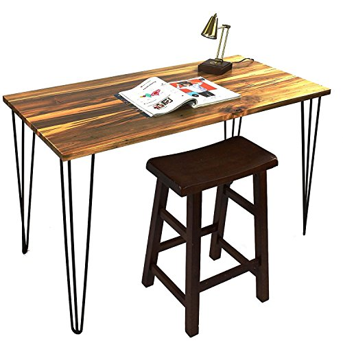 Signstek 28 Hairpin Table Legs with Heavy Duty Metal and Industrial Design for Coffee Tables, Modern Desks and Night Stands,Set of 4