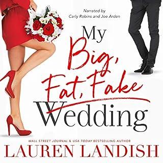 My Big Fat Fake Wedding cover art