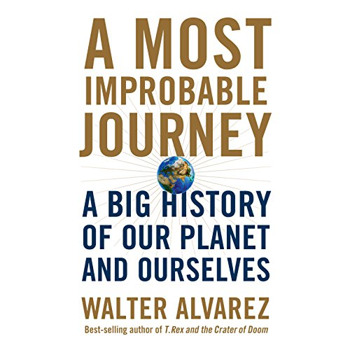 A Most Improbable Journey audiobook cover art