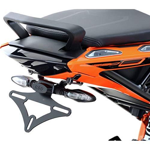 Support de plaque KTM 1290 SUPERDUKE GT Noir - RG RACING