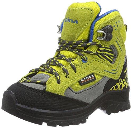 Alpina Unisex-Kinder 680356 Trekking- & Wanderstiefel, Gelb (gelb), 30