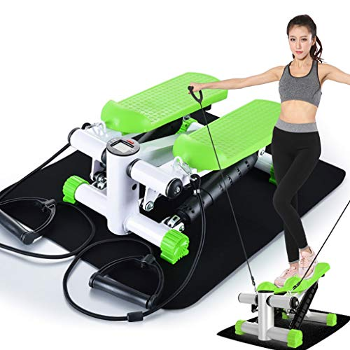 Lowest Prices! Swing Stepper for Home Girls, Mute Free Installation of Small Fitness Equipment, Swin...