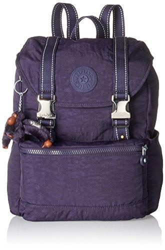 Kipling - Experience S, Mochilas Mujer, Violett (Blue Purple C), 26x32x0.1 cm (B x H T)