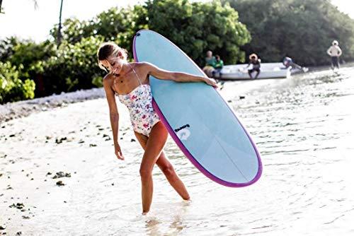 Surfboard Torq Epoxy 7.6 Funboard Pinlines Surfboard