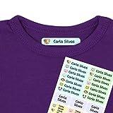 Etiquetas termoadhesivas personalizadas con tu texto | Etiquetas para la ropa,...