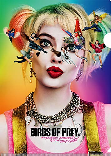 ハーレイ・クインの華麗なる覚醒 BIRDS OF PREY ホログラムクリアファイル / A4サイズ