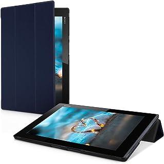 kwmobile Funda para Sony Xperia Tablet Z2 - Carcasa Inteligente de [Cuero sintético] con [Tapa magnética] y Soporte para Tablet