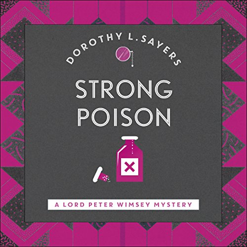 Strong Poison audiobook cover art