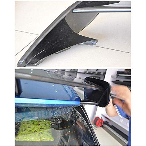 XTT Suitable for Mercedes-Benz A-Class W176 A160 A180 A200 A250 A45 Amg Style 2013-2018 Car Rear Spoiler Wing Lip
