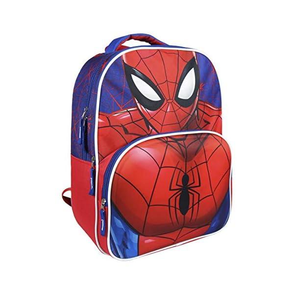 51PpryLFx7L. SS600  - Mochila Escolar 3D Spiderman