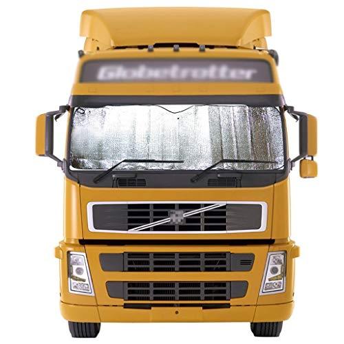 CSQ-Auto koeling Vrachtwagen Zonneblok, Auto Voorruit Zonnescherm Grote Vrachtwagen Gordijn Glas Cover Aluminium folie Reflecterende Zon Visor Isolatie van ultraviolette stralen 150 * 90CM
