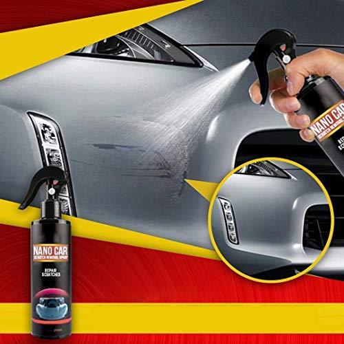 250ml Fast Repair Scratches Nano Car Scratch Removal Spray With Nano Magic Cloth for Cars
