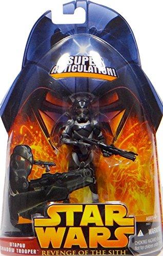 Hasbro Star Wars: Muñeca de la Reina del Sitio > Utapau Shadow Trooper (Super-Articulada) Figura de acción