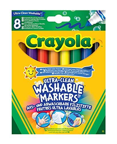CRAYOLA Crayola 58-8328 Ultra-Clean Washable Markers Ass