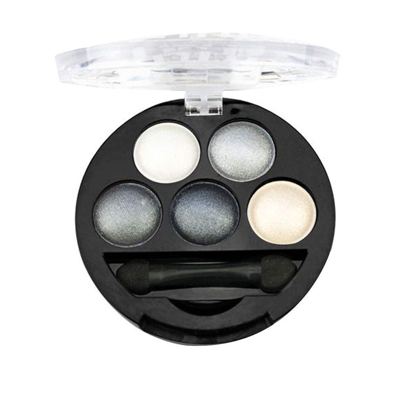 副産物滑り台翻訳Refaxi 5色プロフェッショナルアイシャドウパレットシマーメイクアップピグメントインナーアーティスト高品質アイシャドウ(#2)