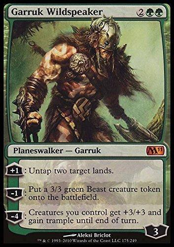 Magic: the Gathering - Garruk Wildspeaker - Magic 2011