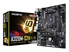 Supports AMD Ryzen & 7th generation A series/Athlon processors Dual channel non-ECC unbuffered DDR4, 2 DIMMs Ultra-fast PCIe Gen3 x4 M.2 with PCIe NVMe & SATA mode support High quality audio capacitors and audio noise guard RealtekGigabitLAN with c...