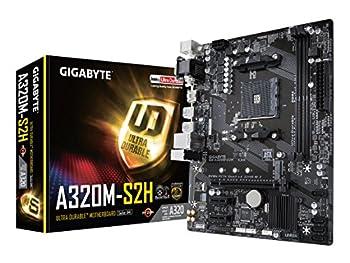 GIGABYTE GA-A320M-S2H  AMD Ryzen AM4/MicroATX/2xDDR4/HDMI/Realtek ALC887/3xPCIe/USB3.1 Gen 1/LAN/Motherboard
