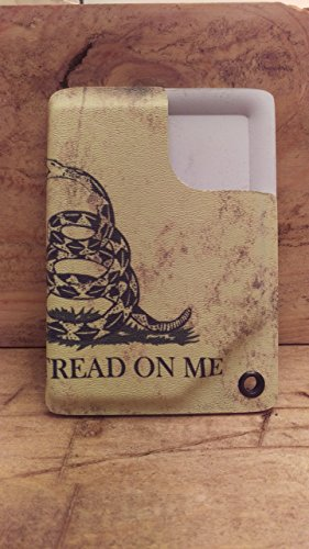 Kydex Pocket Wallet (Don't Tread On Me, American Flag) ~By WP~