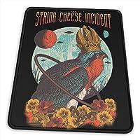 The String Cheese Incident ザ・ストリング・チーズ・インシデント マウスパッド おしゃれ 滑り止め ゲーミング&オフィス最適 25.4 X 30.5CM