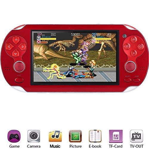 Console de Jeu Portable, Console de Jeu rétro de 4,3 Pouces intégrée à 3000 Jeux, Lecteur de Jeu vidéo 8G, Cadeau danniversaire pour Enfants Adultes