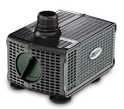 Pennington Aqugarden, Premium Auto Shut-Off Fountain Pump, Suitable for Garden Fountains, Water Features, Aquapoincs & Hydroponics, 150-300 Gallon Model