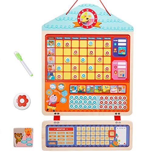 Amiispe Belohnungstafel für Kinder, Sternchenplan für Wand Kühlschrank Magnetische Sternkarte Belohnungstabelle Verantwortung für Sauberkeitstraining