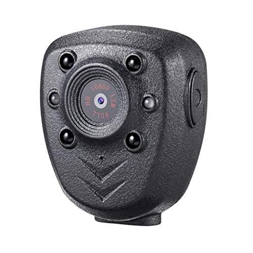 EElabper Cuerpo de la cámara Mini usable Seguridad visión Nocturna 1080p Leva 32 GB de Memoria portátil para el hogar al Aire Libre