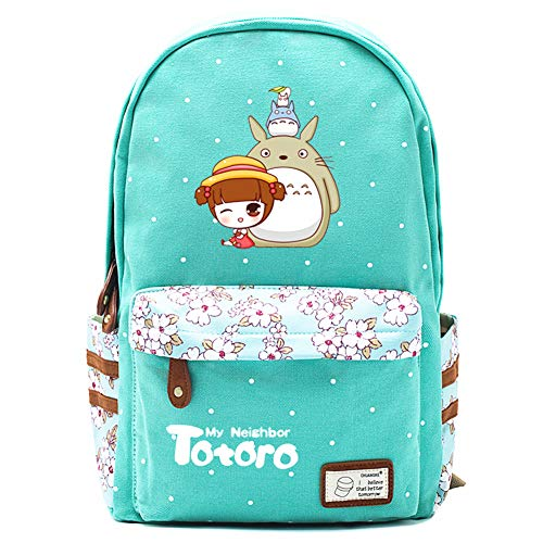 Anime My Neighbor Totoro: Mochila de lona para cosplay