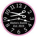 Ninguna marca de peluquería personalizado reloj estilista de pelo reloj