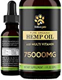 Calm and soothe anxious or aging pets with Omega-rich cat and dog hemp oil by Billion Pets. Packed with Vitamins C and E as well as other healing nutrients that work synergistically, it promotes joint mobility, shiny coat and relaxation for dogs and ...