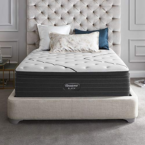 Great Deal! Beautyrest Black L-Class Plush Pillow Top King Mattress