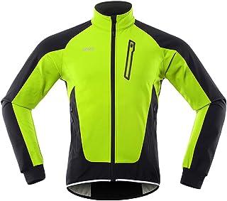 Radsport Winterjacke für Männer Warm haltende wasserdichte MTB-Radsportjacke