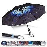Compact Umbrella Windproof, Travel Umbrella, Lightweight Automatic Umbrellas with UV...