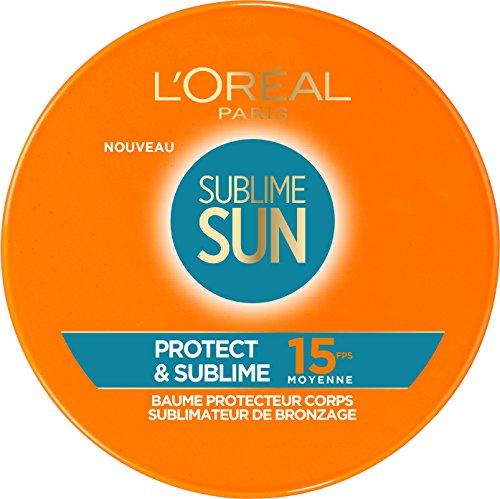 L'Oréal Paris Baume Protecteur Sublimateur Bronzage FPS15 100 ml - Lot de 2
