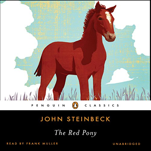 The Red Pony audiobook cover art