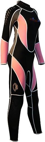 MagiDeal Combinaison Plongée Néoprène 3mm Costume Sport Nautique Plongé en Apnée