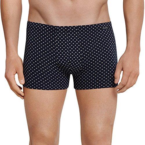 Schiesser Herren Shorts Boxershorts, Blau (Dunkelblau 803), X-Large (Herstellergröße: 007)