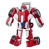 Transformers Playskool Rescue Bots Academy – Robot de Emergencia Heatwave F1 de 11 cm