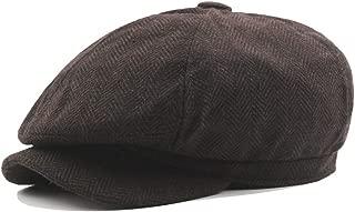 Fashion Hats Beret Cap Spring Autumn Winter Cotton Beret Ear Vintage Octagonal Hat Casual Ladies Striped Octagonal Hat Male Folding Vintage Cap Visors Cap Elegant Hats