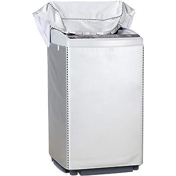 [Mr.You]洗濯機カバー 防水 防塵 防湿 紫外線3年耐久 オックスフォード マジックテープ 全自動 <日本正規2年保証>防水生地【XL】10-12KGに対応