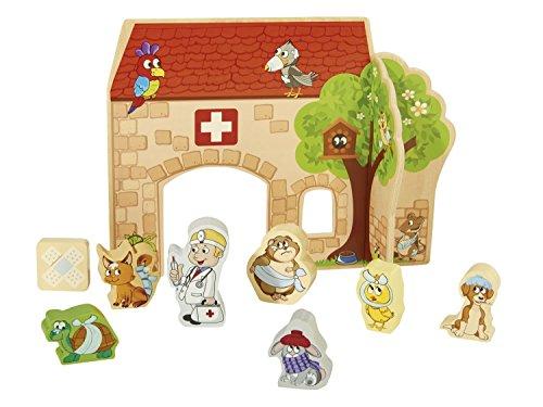 PLAYTIVE® JUNIOR Spielkulisse (Tierarzt)