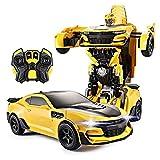 360 ° rotación truco automóviles función vehículo eléctrico recargable radio controlado rc para niños niñas niños robot coche control remoto coche 1:12 rc un toque transforma doble modos dual X