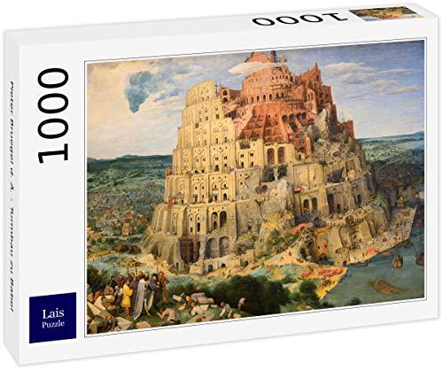 Lais Puzzle Pieter Bruegel d. Ä. - Turmbau zu Babel 1000 Teile