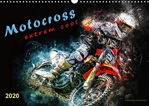 Motocross - extrem cool (Wandkalender 2020 DIN A3 quer): Motocross, faszinierender Extremsport mit spektakulären Sprüngen (Monatskalender, 14 Seiten ) (CALVENDO Sport)