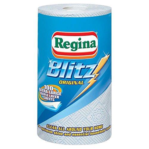 Regina Blitz All Purpose - Servilletas de cocina (100 hojas por rollo, 2 unidades)